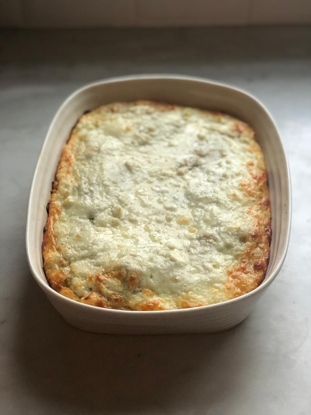 Baked Spaghetti Marinara
