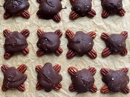 Dark Chocolate Turtles