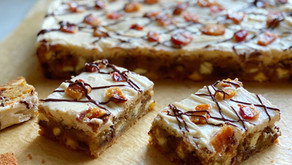 Maple-Bacon Cookie Bars