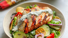 Tandoori Chicken with Raitha Dressing
