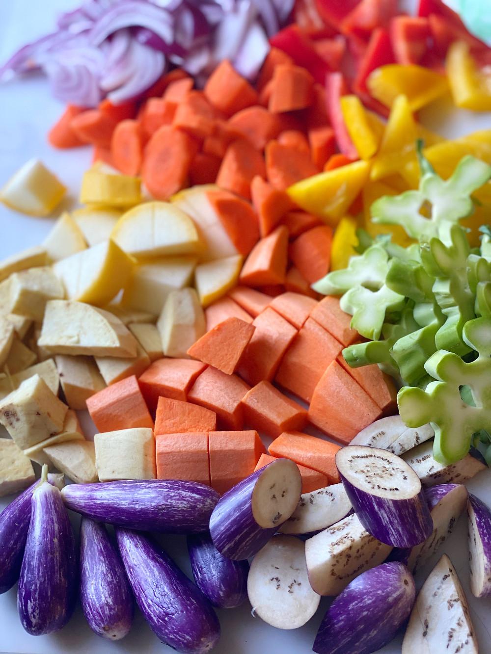 Rainbow Vegetable Korma