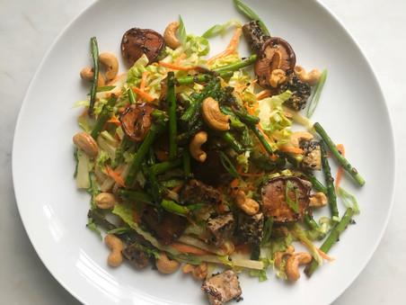 Hot & Cold Asian Salad