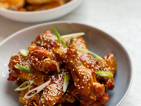 Chicken Wings Two Ways