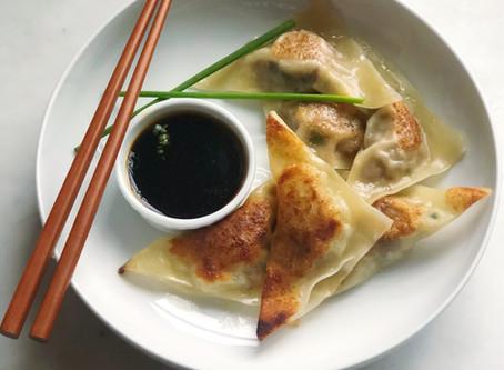 Panfried Pork & Shitake Potstickers