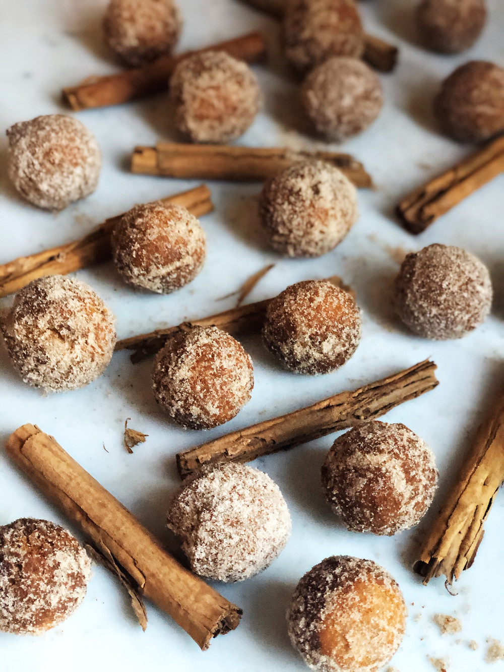 Spiced Donut Holes