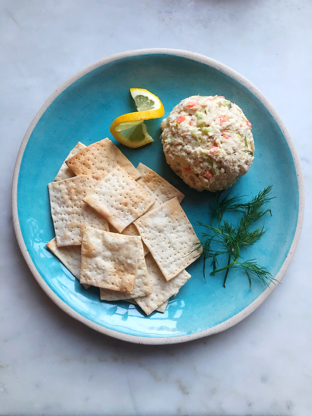 Best Ever Tuna Salad with Homemade Matzo