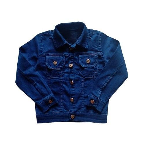 Jaqueta Infantil Masculina - Jeans Escuro