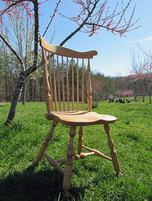 SET OF 6 | Fanback Windsor Side Chairs | Handmade Windsor Dining Chair