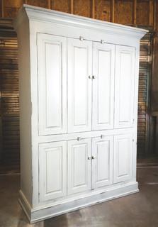 William Bi Fold Door Armoire