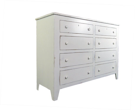 Shaker Eight Drawer Dresser