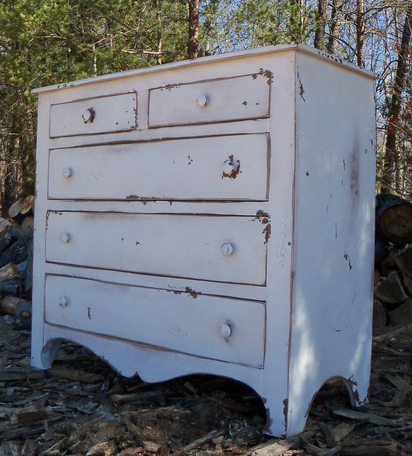Primitive Charleston Chest 5