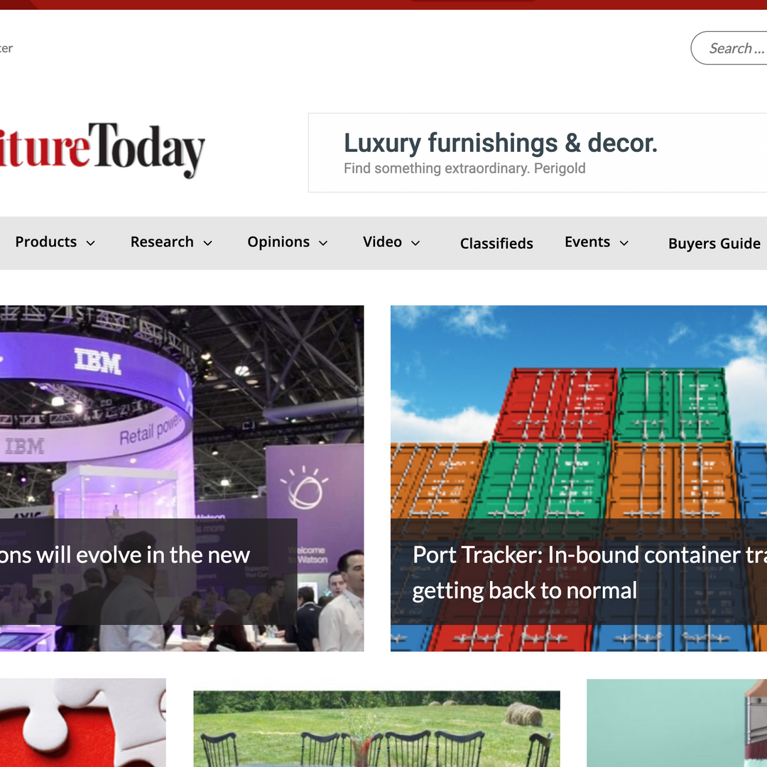Furniture Today Article