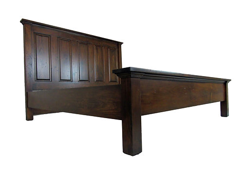 Wallace Raised Panel King Size Bed