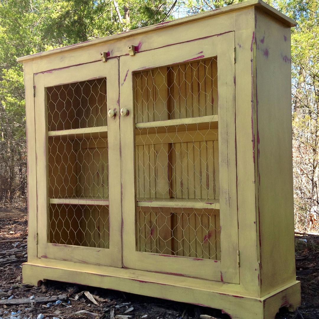 Rustic Chicken Wire Doors