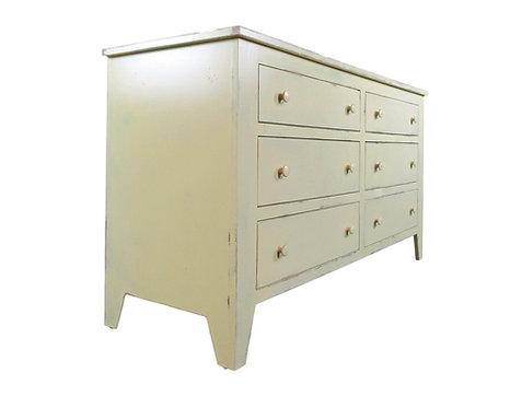 Shaker Six Drawer Dresser