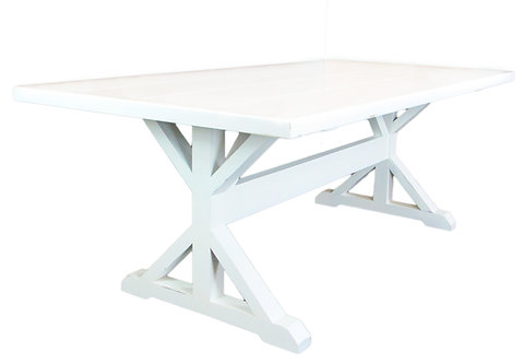 Craftsman X Trestle Dining Table