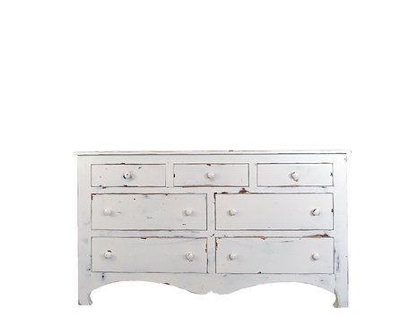 Charleston Seven Drawer Bedroom Dresser