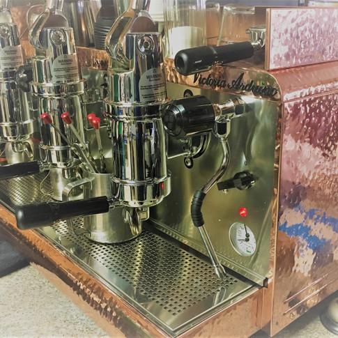 """Vikki"" Victoria Arduino Leva espresso machine"