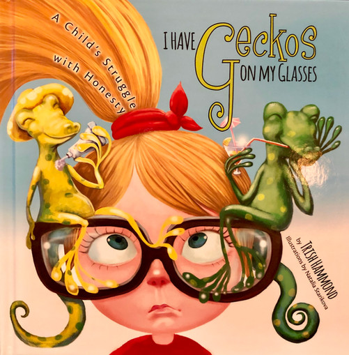 I Have Geckos On My Glasses