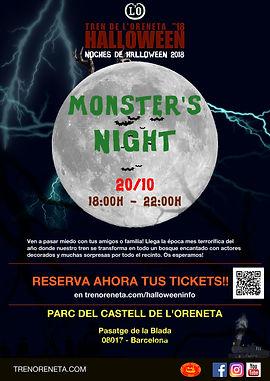 cartel halloween 2018 monster's night.jp