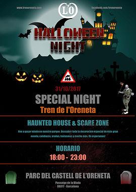 halloween night cartel 17 18-00 a 23-00.