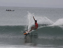 Batukaras surfing Sout West Java