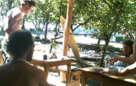 BK Homestay L-Pari Cafe Batukaras