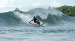 Batukaras surfer Rudy Sapro