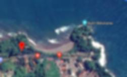 Batukaras aerial view