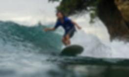 Batukaras Point Break Surf