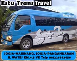 yogyarkarta pangandaran tourist bus