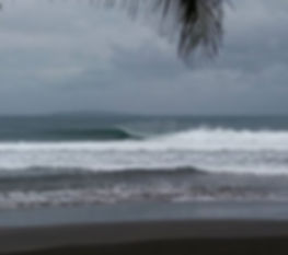 Batukaras Reef Break surfing South West Java