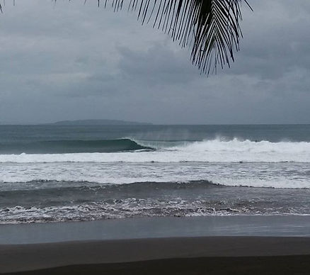 Batukaras Reef Break surfing South West Java
