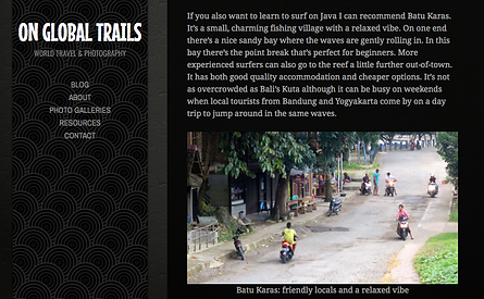 On Global Trails