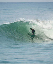 Batukaras Bulak Benda surfing South West Java