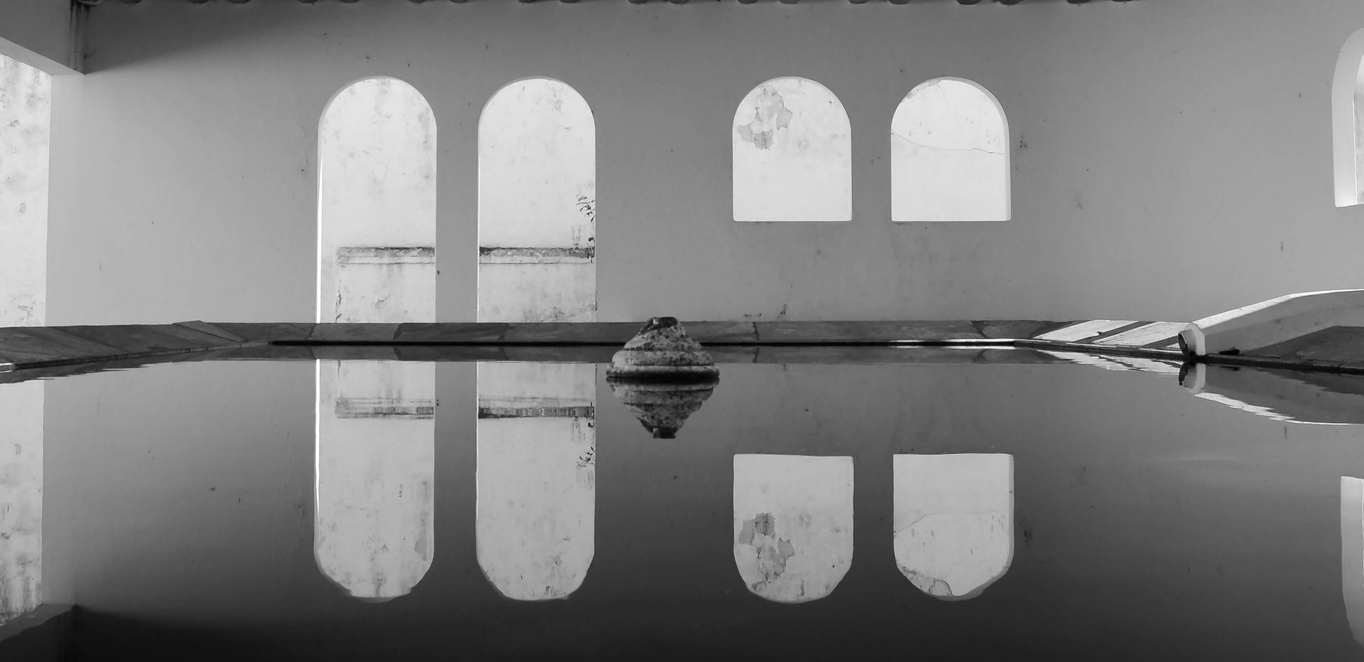 1.º lugar - Espelho de água