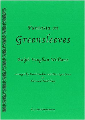 VAUGHAN WILLIAMS ~ Greensleeves ~ Flute & Harp
