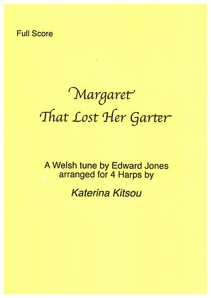 Margaret That Lost Her Garter ~ 4 Harps