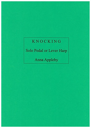 KNOCKING (Anna Appleby) Lever or Pedal Harp