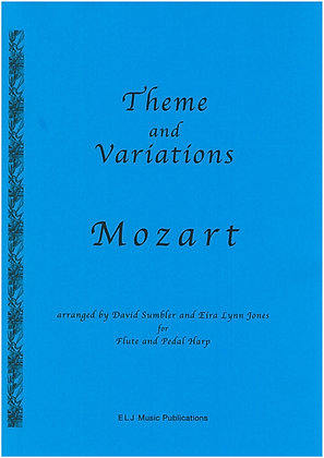 MOZART ~ Theme and Variations ~ Flute & Harp