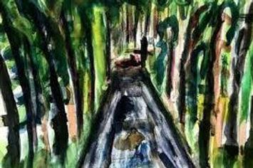Ростислав Романов нарисовал Поросенков лог (Мемориал Романовых)