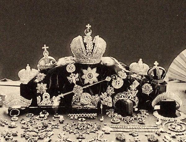 Разбор Царских вещей , после убийства в Ипатьевском доме