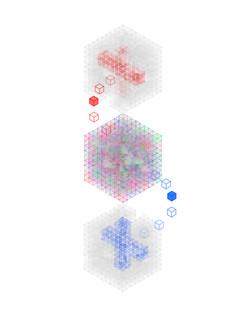 Fourth Dimension Cube