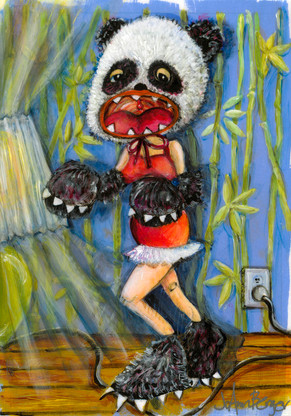 Monster Mama Loves Baby Giant Pandas
