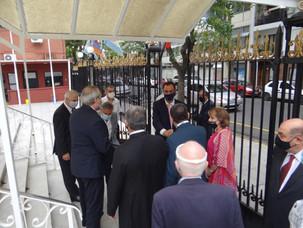Encuentro semipresencial con el Embajador de la República Argentina en la República de Armenia