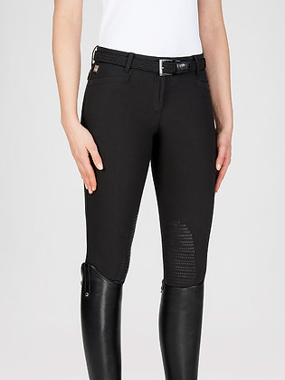"Equiline Woman breeches  Knee grip "" Ash """