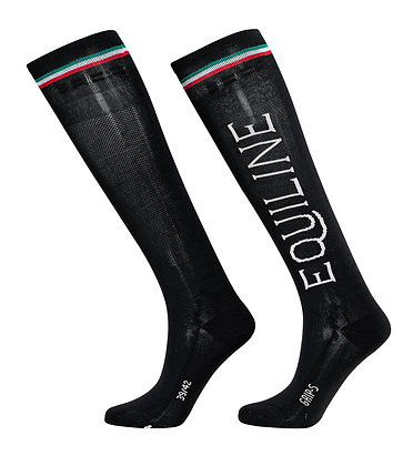 Equiline Team Socks With Grip T11290