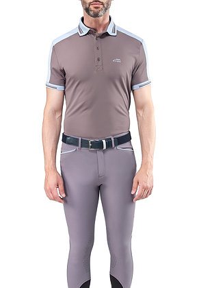 "Equiline MEN'S FREE TIME POLO SHIRT "" Evans """