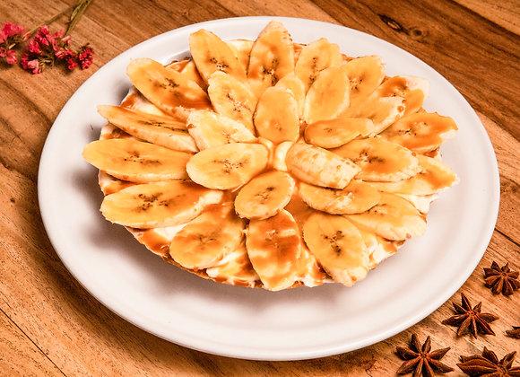 Tartaleta de plátano y cajeta