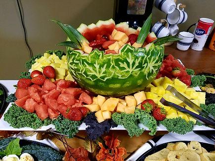 Chartwells|food displays|Cadillac